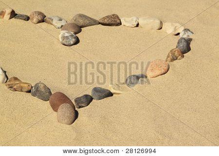 Heart over Stones
