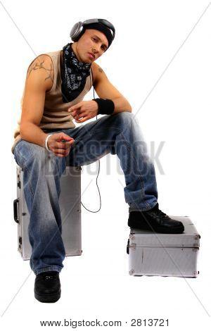 DJ Is Posing