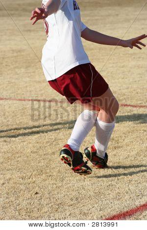 Mädchen-Fußball