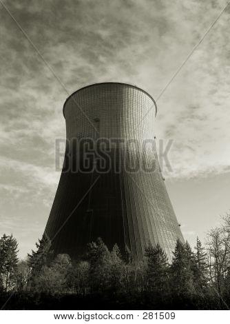 Hyperbolische Kühlturm 3