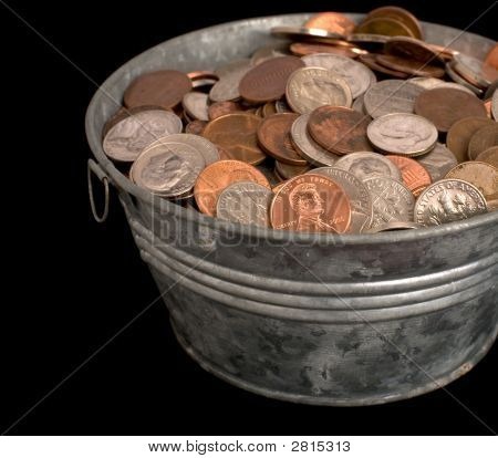Tub Of Money