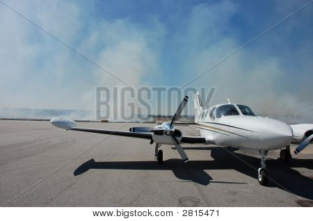 Smoky Airplane