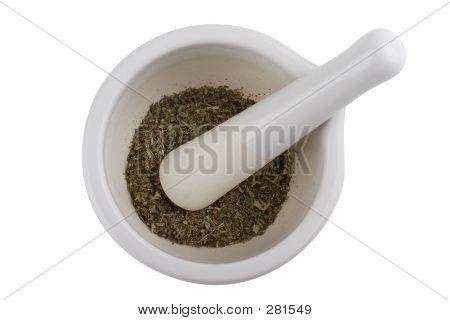 Bowl & Pestle