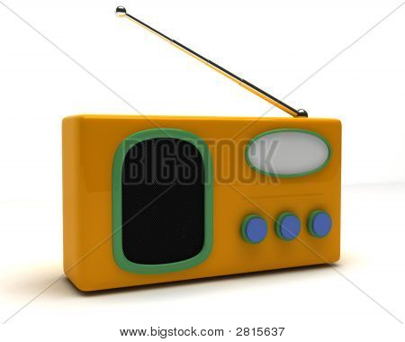 Radio In Retro-Style