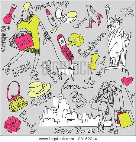 compras en nueva york doodles