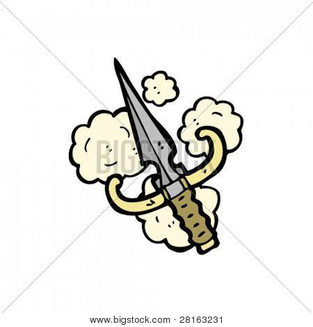 dagger cartoon