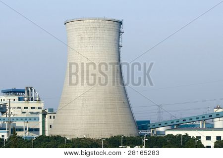 cooling tower of a energy plant in China