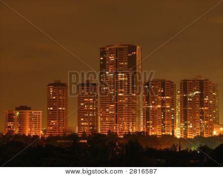 Makati Condominium Skyline