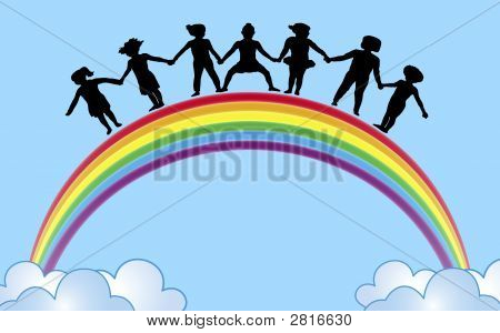 Hands On Rainbow
