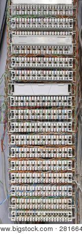 Panel de Cable de teléfono