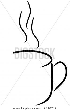 Coffee Mug Abstract