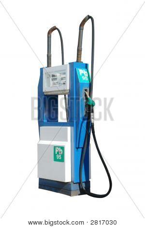Antiguo distribuidor de gasolina