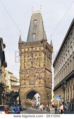 Powder Tower. Prague.