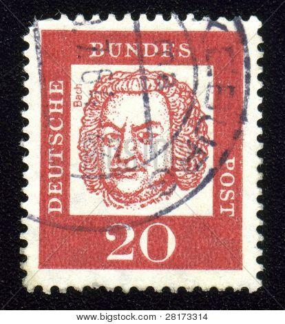 Jahrgang antiken Briefmarke aus Deutschland