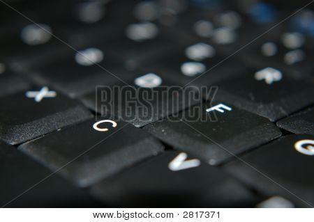 Black Modern Keyboard