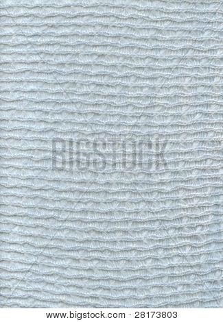 Textura de la materia textil de lana azul tela