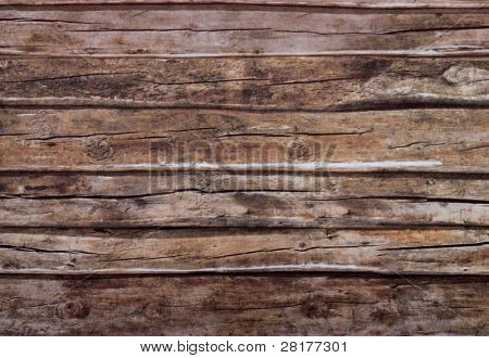 Close-up old dark wood texture with natural patterns