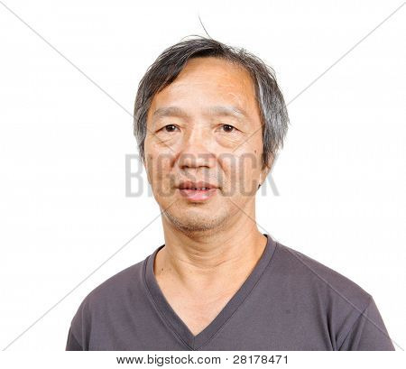 asian mature man