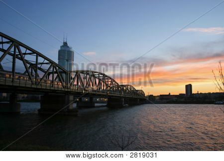Bridge Over River Danube