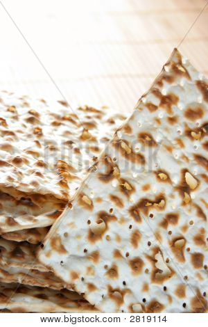Matzos Close Up