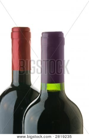 Two Wine Bottles