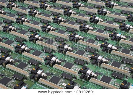 Many Electronic Circuit Board