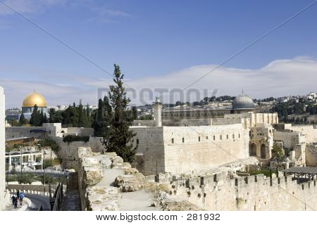 poster of  Old City & Temple Mount