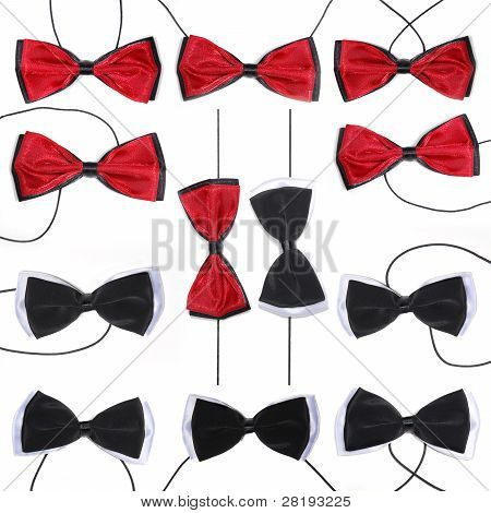 Bow-tie Isolated On A White Background