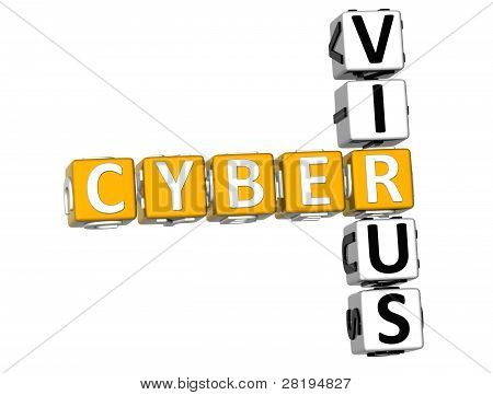 3D Cyber vírus Crossword