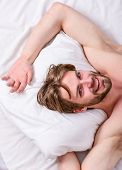 Get Adequate And Consistent Amount Of Sleep Every Night. How Much Sleep You Actually Need. Bearded M poster
