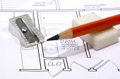 Architecture - Pencil poster