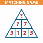 Math Educational Game For Children. Can You Solve This Children Funny Riddle Entertainment. Find Rig poster