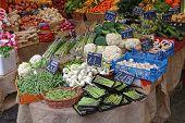 Fresh Vegetables At Borough Market In London Uk poster