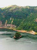 pic of batangas  - A picture of an island within a lake in taal volcano Philippines - JPG
