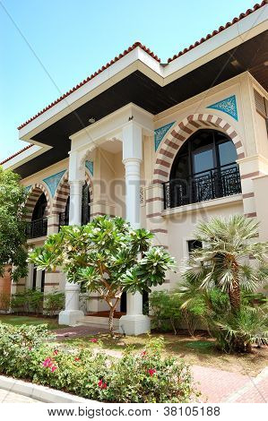 The Arabic Style Modern Villa At Luxury Hotel, Dubai, Uae