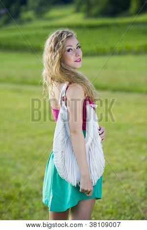 Beautiful Teenager Girl