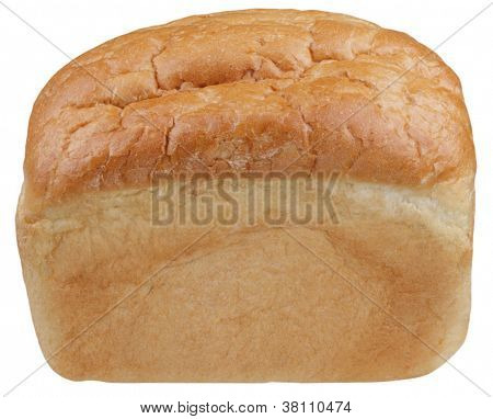 Wheaten Bread On White Background