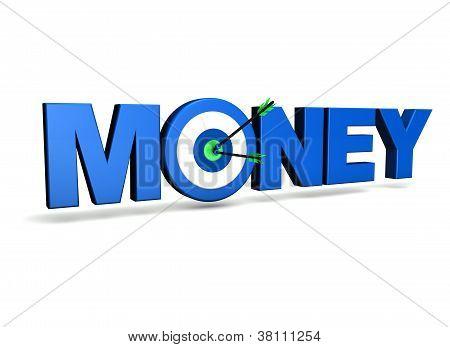 Money Target Concept
