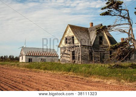 dilapidated dwelling