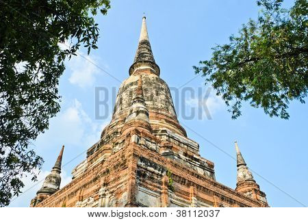 Ancient Thai Pagoda