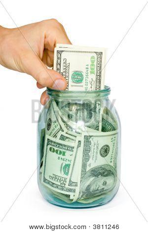 Money Concept Dollars