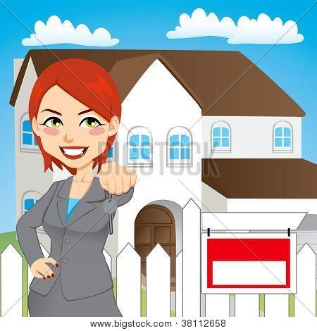 Real Estate Woman
