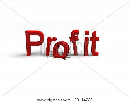 drop in profit