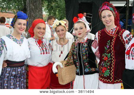 ukrainische Tänzer
