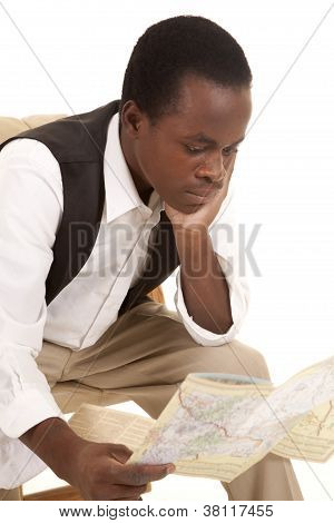 Looking At Road Map