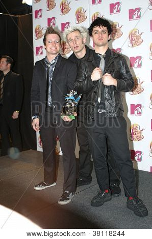 Green Day- Mtv Awards Australia