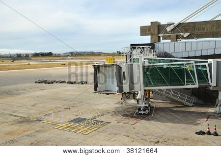 Airbridge and Taxiway