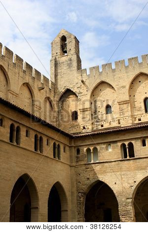 The Papal palace, Avignon