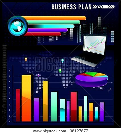 business vector plan