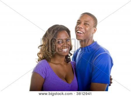 Agradable buscando pareja negra riendo